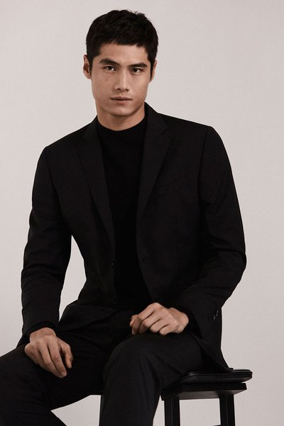 Hao Yun Xiang - Ph: for Massimo Dutti 'Chinese New Year' Spring 2018