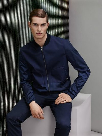 Jason Anthony - Ph: Simon Burstall for Hugo Boss Online S/S 15