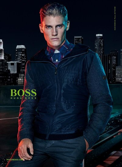 Mikkel Jensen - Ph: Hunter & Gatti for Boss Green F/W 15