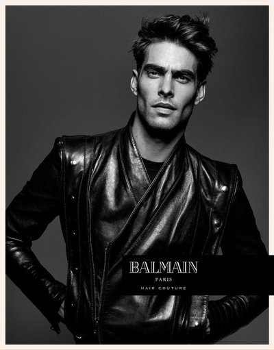 Jon Kortajarena - Ph: An Le for Balmain Hair Spring 2017