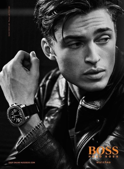 Harvey Newton-Haydon - Ph: Peter Lindbergh for Boss Orange F/W 14