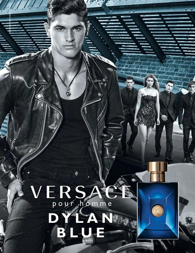 Trevor Signorino - Ph: Bruce Weber for Versace Dylan Blue Fragrance
