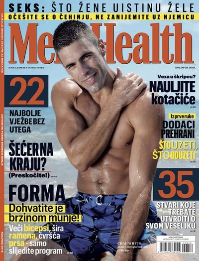 Chad White - Ph: for Men's Health Croatia August 2019