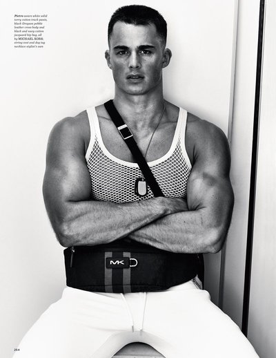 Pietro Boselli - Ph: Philippe Vogelenzang for British GQ Style
