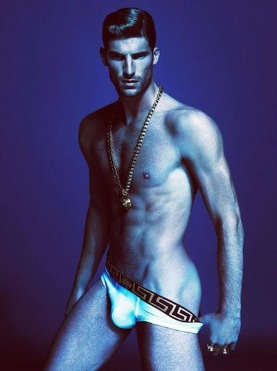 Ryan Barrett - Ph: Mert Alas and Marcus Piggot for Versace Underwear S/S 13