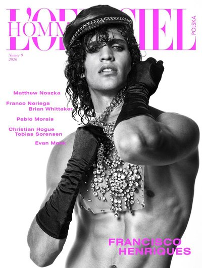 Francisco Henriques - Ph: Kosmas Pavlos for L'Officiel Hommes Poland Spring 2020