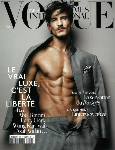 Jarrod Scott - Ph: Solve Sundsbo for Vogue Hommes International S/S 13 Cover