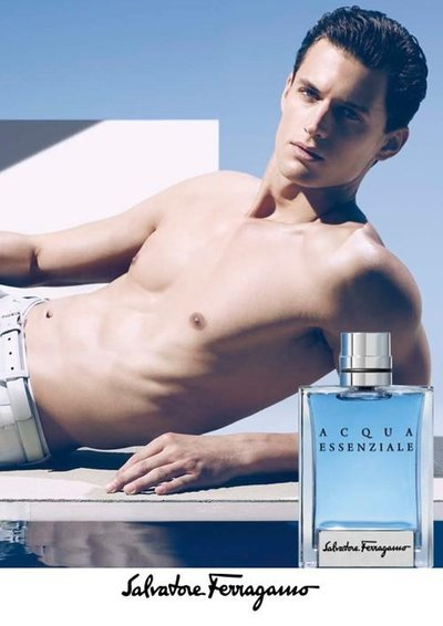 Garrett Neff - Ph: Camilla Akrans for Salvatore Ferragamo Fragrance S/S 13