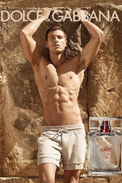 Adam Senn - Ph: Mariano Vivanco for Dolce & Gabbana Sport Fragrance