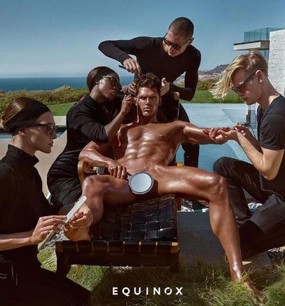 Brian Shimansky - Ph: Steven Klein for Equinox 2017