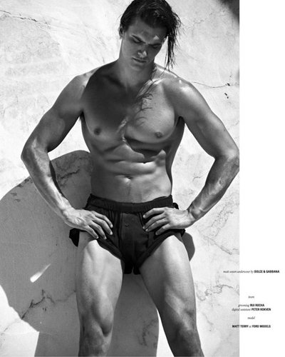 Matthew Terry - Ph: Philippe Vogelenzang for D Section
