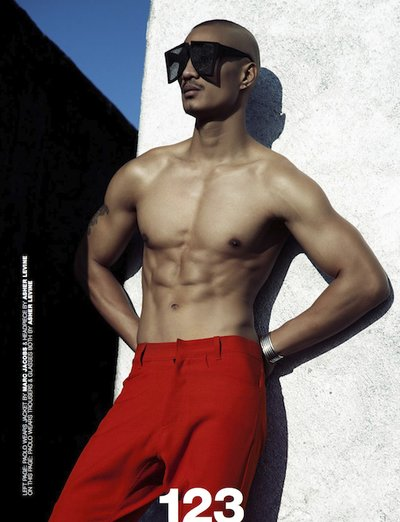 Paolo Roldan - Ph: Brent Chua for Homme Style April 2013