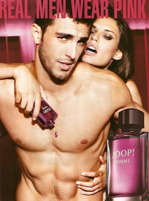 Clint Mauro - Ph: Ellen Von Unwerth for Joop Homme Fragrance Contract 2014
