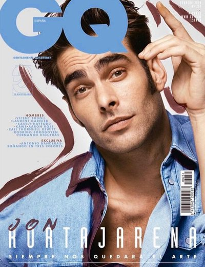Jon Kortajarena - Ph: Nacho Alegre for GQ Espana Feb 2019