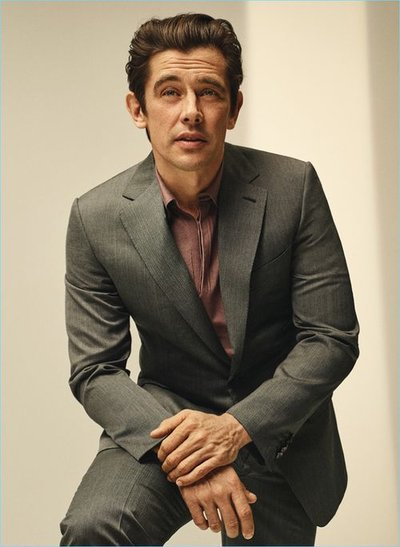 Werner Schreyer - Ph: Greg Harris for Brioni S/S 18