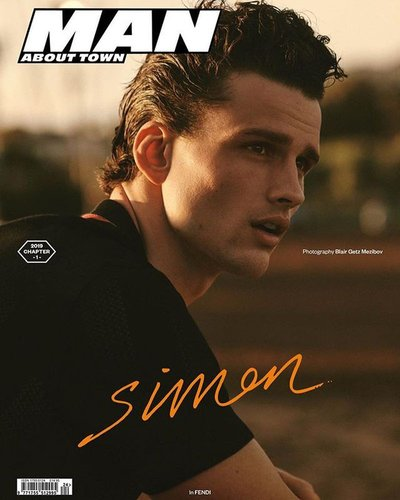 Simon Nessman - Ph: Blair Getz Mezibov for Man About Town S/S 19 Cover