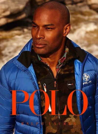 Tyson Beckford - Photo: Arnaldo Anaya Lucca for Polo Ralph Lauren Fall 2013