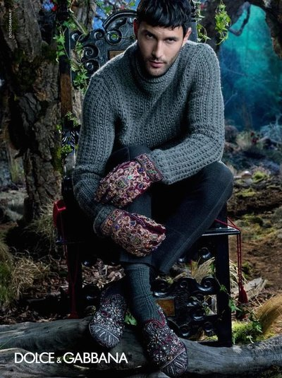 Noah Mills - Ph: Domenico Dolce for Dolce & Gabbana F/W 14