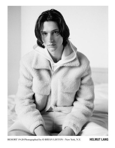 Wellington Grant - Ph: Bryan Liston for Helmut Lang Resort 2019-20