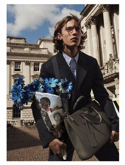 Freek Iven - Ph: Keizō Kitajima for Prada Resort 2020 Campaign