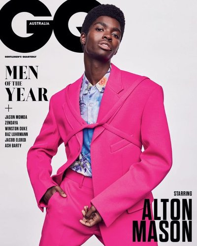 Alton Mason - Ph: Nathaniel Goldberg for GQ Australia Nov/Dec 2019