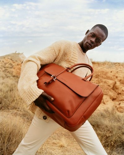 Alpha Dia - Ph: Harley Weir for Salvatore Ferragamo S/S 20