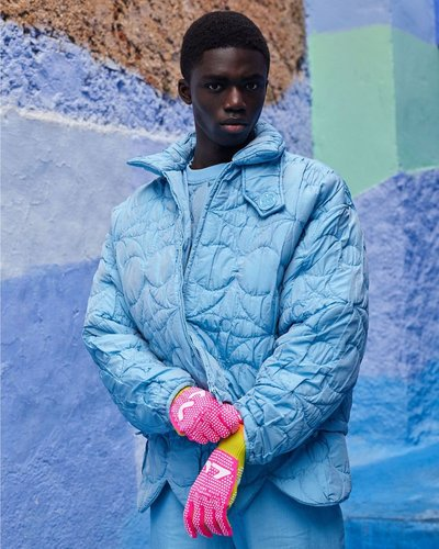Jeremiah Berko Fourdjour - Ph: Viviane Sassen for Louis Vuitton Men S/S 20