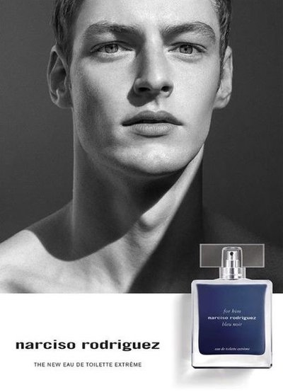 Roberto Sipos - Ph: Viviane Sassen for Narciso Rodriguez For Him Bleu Noir Extreme Fragrance 2020