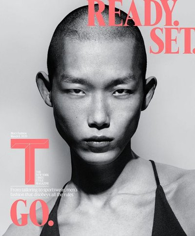 Xu Meen - Ph: Mert and Marcus for The New York Times Style Magazine Men's Fashion Spring 2020 Cover