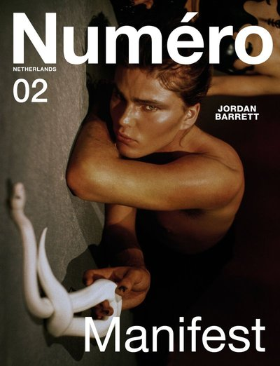 Jordan Barrett - Ph: Fabrizio del Rincon for Numero Netherlands S/S 20