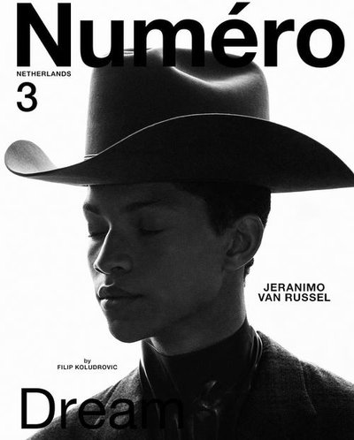 Jeranimo van Russel - Ph: Filip Koludrovic for Numero Netherlands F/W 20