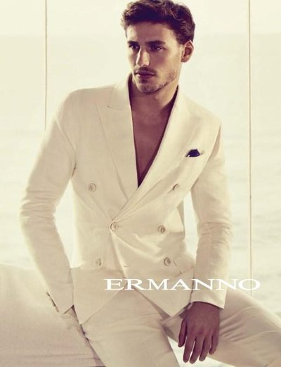 Mariano Ontañon - Ph: Francesco Carrozzini for Ermanno Scervino S/S 15