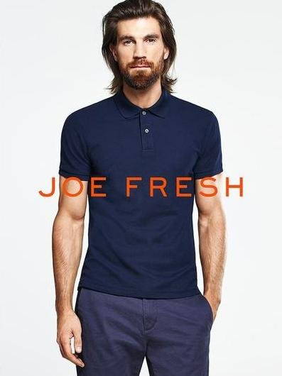 Henrik Fallenius - Ph: for Joe Fresh Spring 2015