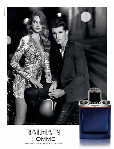 Edward Wilding - Ph: Koray Birand for Balmain Homme Fragrance 2015
