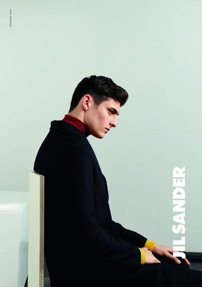 Rhys Pickering - Ph: Collier Schorr for Jil Sander F/W 15