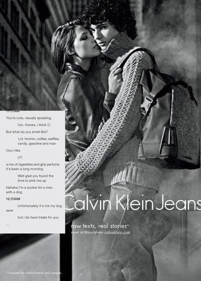 Piero Mendez - Ph: Mario Sorrenti for CK Jeans Fall 2015