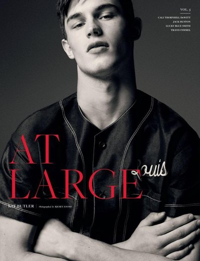 Kit Butler - Ph: Bjorn Iooss for At Large Magazine S/S 16
