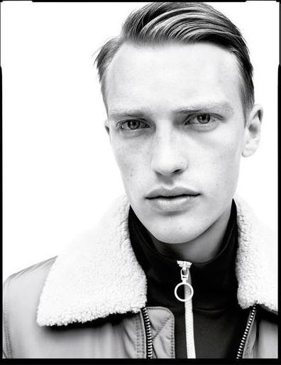 Victor Nylander - Ph: Willy Vanderperre for Zara Men Fall 2016