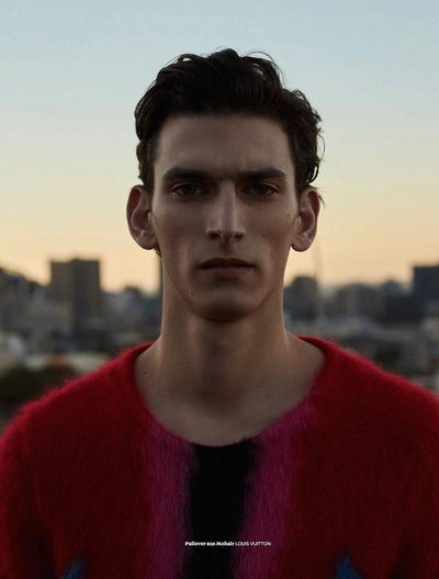 Thibaud Charon - Ph: Jana Gerberding for L'Officiel Hommes Germany