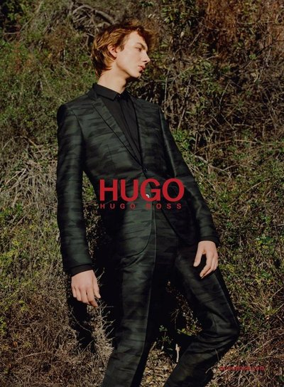 Paul Hameline - Ph: Harley Weir for Hugo F/W 17