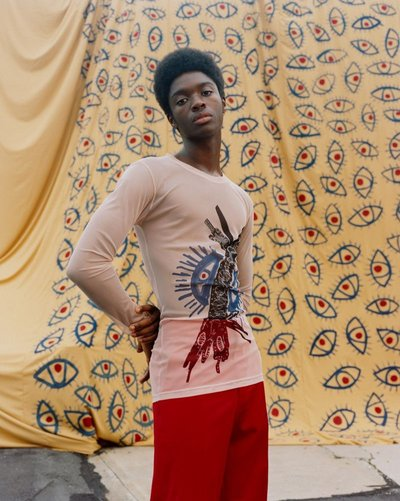 Alton Mason - Ph: Harley Weir for Hugo Boss S/S 2018