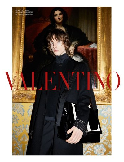Benno Bulang - Ph: Juergen Teller for Valentino F/W 18