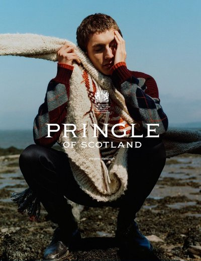 Henry Kitcher - Ph: Harley Weir for Pringle of Scotland F/W 18
