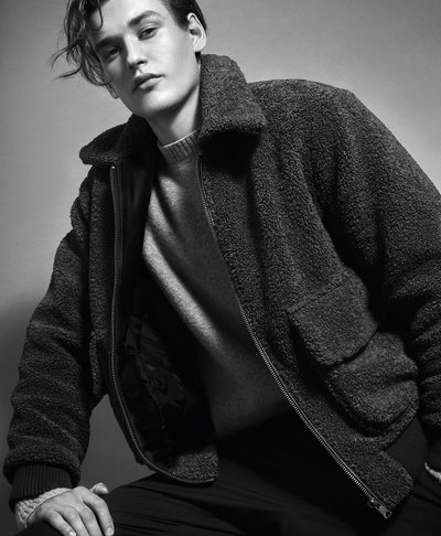 Jegor Venned - Ph: Mario Sorrenti for Mango F/W 17