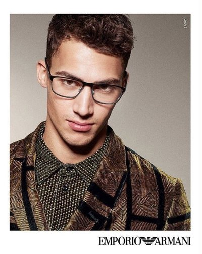 Alessio Pozzi - Ph: Sabine Villiard for Emporio Armani F/W 17
