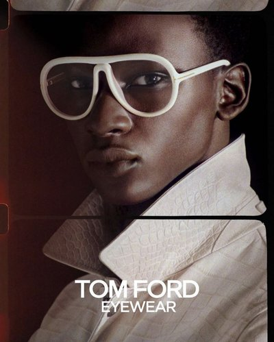 Tamsir Thiam - Ph: Adam Katz Sinding for Tom Ford Summer 2020