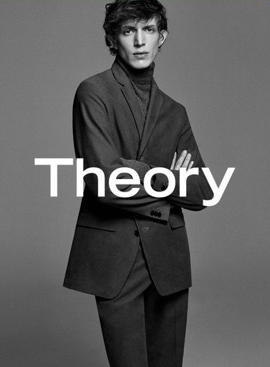 Xavier Buestel - Ph: Erik Torstensson for Theory F/W 17