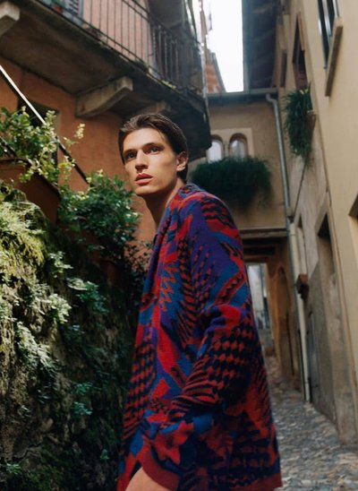 Edoardo Sebastianelli - Ph: Oliver Hadlee Pearch for Missoni F/W 20