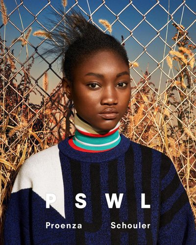 Eniola Abioro - Ph: Ethan James Green for Proenza Schouler Spring 2019