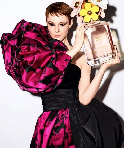 Gisele Fox - Ph: Liz Collins for Marc Jacobs Fragrance (social content)